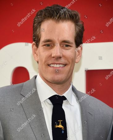 "Cameron Winklevoss attend the world premiere of ""Ocean's 8"" at Alice Tully Hall, in New York"