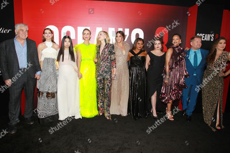 """Editorial photo of Warner Bros Pictures & Village Roadshow Pictures' Present The World Premiere of """"OCEAN'S 8"""" Sponsored by Cartier & Johnnie Walker, New York, USA - 05 Jun 2018"""