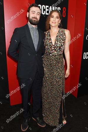 """Editorial image of Warner Bros Pictures & Village Roadshow Pictures' Present The World Premiere of """"OCEAN'S 8"""" Sponsored by Cartier & Johnnie Walker, New York, USA - 05 Jun 2018"""