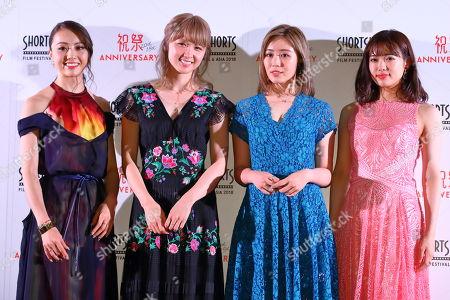 Stock Picture of Dream Shizuka, Dream Ami, Reina Washio, Nonoka Yamaguchi