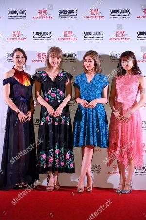 Stock Image of Dream Shizuka, Dream Ami, Reina Washio, Nonoka Yamaguchi
