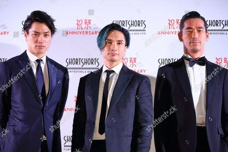 Nobuyuki Suzuki, Kenchi Tachibana, Naoki Kobayashi