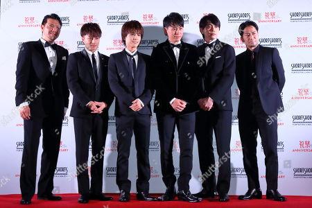Editorial image of Short Shorts Film Festival, Opening Ceremony, Tokyo, Japan - 04 Jun 2018