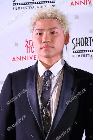 Stock Picture of Hayato Komori