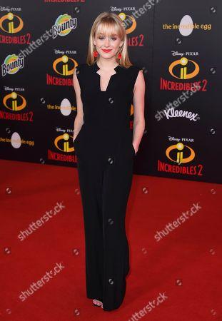 "DeVore Ledridge arrives at the world premiere of ""Incredibles 2"" at the El Capitan Theatre, in Los Angeles"