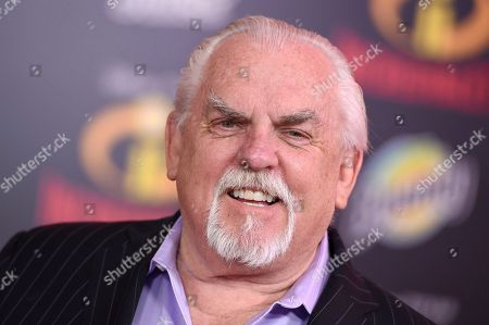 """John Ratzenberger arrives at the world premiere of """"Incredibles 2"""" at the El Capitan Theatre, in Los Angeles"""
