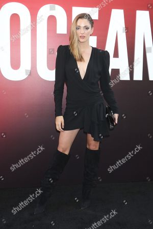 Editorial picture of 'Ocean's 8' film premiere, Arrivals, New York, USA - 05 Jun 2018