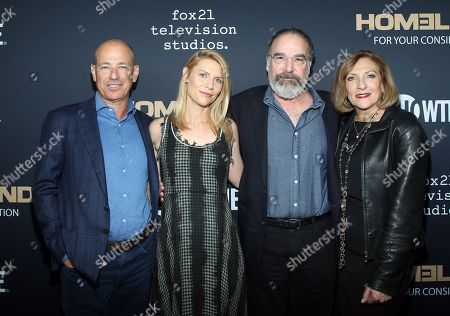 Howard Gordon, Claire Danes, Mandy Patinkin, Lesli Linka Glatter
