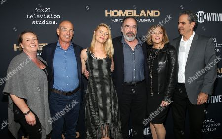 Howard Gordon, Claire Danes, Mandy Patinkin, Lesli Linka Glatter, Executive directors