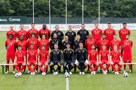 Editorial picture of Belgium national football team press conference and training session, Tubize, Belgium - 05 Jun 2018