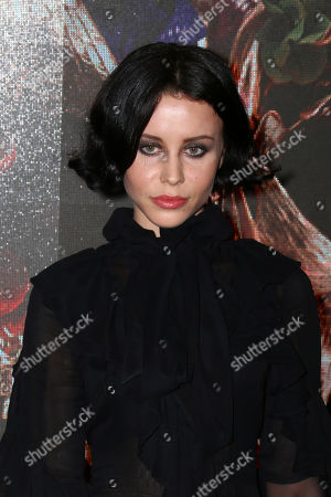 Stock Picture of Billie JD Porter poses for photographers upon arrival at the premiere of McQueen in central London