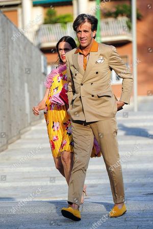 Davide Oldani and wife