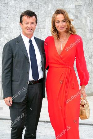 Giorgio Gori and Cristina Parodi