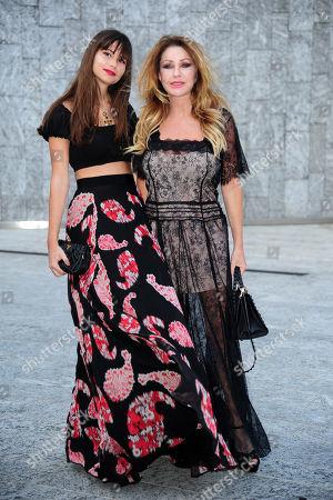 Paola Ferrari e la figlia Virginia