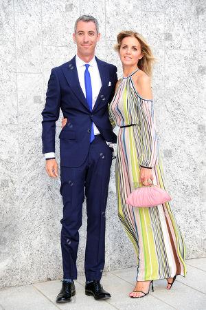 Paolo Kessisoglu e la moglie