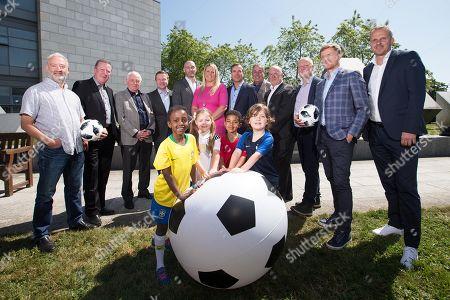 Editorial picture of RTE Sport 2018 World Cup Launch, RTE Studios, Dublin  - 06 Jun 2018