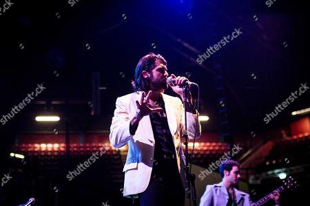 Editorial picture of Cameron Avery in concert, Mediolanum Forum Assago, Milan, Italy - 04 Jun 2018