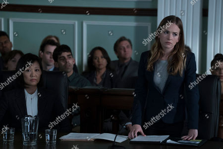 """Editorial image of """"For The People"""" (Season 1) TV Series - 2018"""