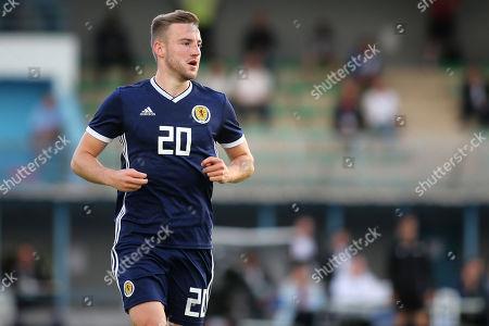 Alan Campbell of Motherwell and Scotland U21's during Scotland Under-21 vs England Under-21, Tournoi Maurice Revello Football at Stade de Lattre-de-Tassigny on 6th June 2018