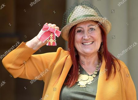 Stock Picture of Lynne Franks with OBE