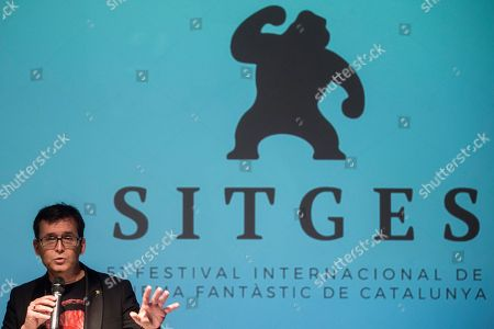 Sitges International Fantastic Film Festival's Director, Angel Sala, addresses a press conference to present the 51th occasion of the festival in Barcelona, Spain, 06 June 2018. The Festival, running from 04 to 14 October 2018, will award Australian film-maker Peter Weir, with an honorary award, and actresses Pam Grier, Helga Line and Traci Lords.