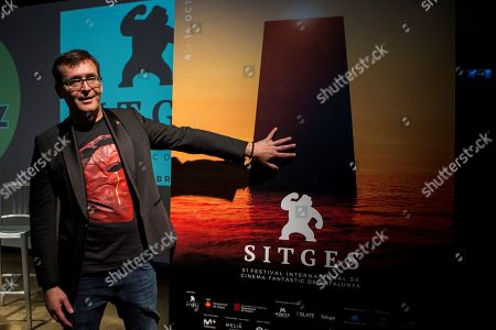 Sitges International Fantastic Film Festival's Director, Angel Sala, poses for photographers as he addresses a press conference to present the 51th occasion of the festival in Barcelona, Spain, 06 June 2018. The Festival, running from 04 to 14 October 2018, will award Australian film-maker Peter Weir, with an honorary award, and actresses Pam Grier, Helga Line and Traci Lords.