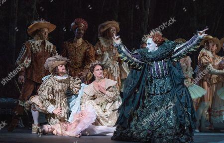Alina Cojocaru as Princess Aurora,  James Streeter as Carabosse