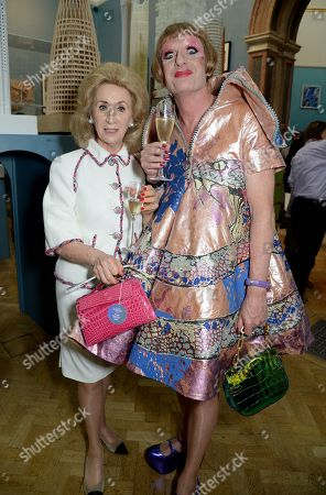 Lady Wolfson and Grayson Perry