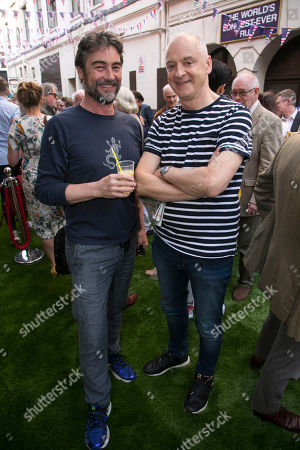 Editorial image of 'Pressure' arrivals, Street Party, London, UK - 06 Jun 2018