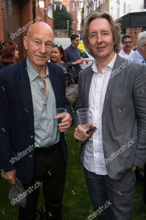 Sir Patrick Stewart and Jonathan Church