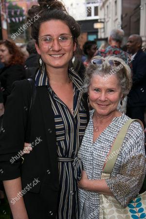 Bessie Carter and Imelda Staunton