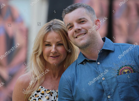 Sarah Hadland and Russell Tovey