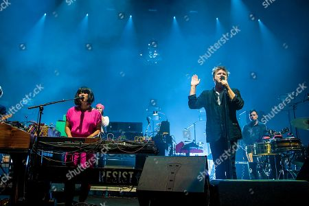Stock Picture of LCD Soundsystem - Nancy Whang and James Murphy
