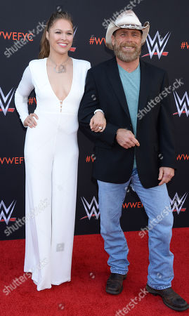Ronda Rousey and Shawn Michaels