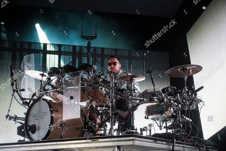 Shannon Leto of 30 Seconds to Mars performs at the Budweiser Stage, in Toronto, Canada