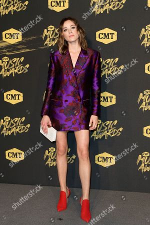 Editorial picture of CMT Music Awards, Arrivals, Nashville, USA - 06 Jun 2018