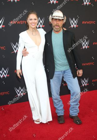 Stock Picture of Ronda Rousey, Shawn Michaels
