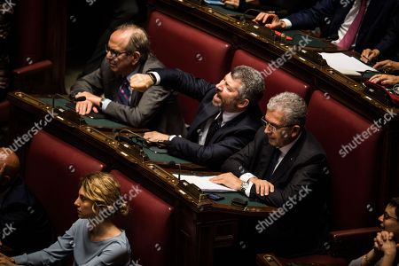 Editorial picture of Vote of confidence to the new Government in the Chamber of Deputies, Rome, Italy - 06 Jun 2018