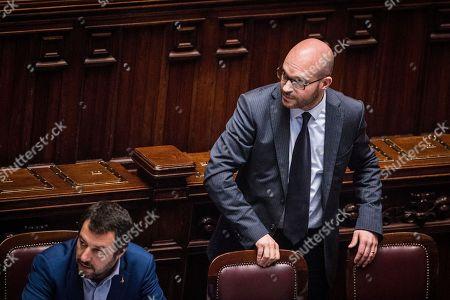Minister of Interior Matteo Salvini, Minister of Family and Disability Lorenzo Fontana