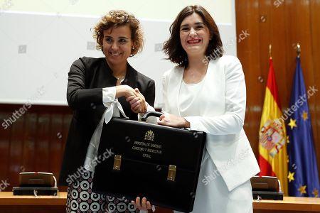 Carmen Monton and Dolors Montserrat