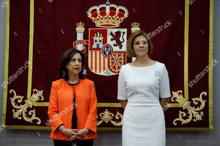 Margarita Robles and Maria Dolores de Cospedal