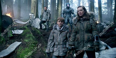 Toby Stephens, Max Jenkins, (Brian Steele) as Robot,  Molly Parker