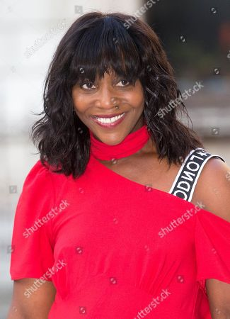 Stock Image of Brenda Emmanus arrives at the Royal Academy for the Exhibition Preview Party