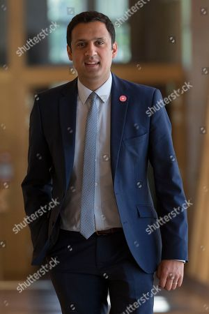 Scottish Parliament First Minister's Questions - Anas Sarwar makes his way to the Debating Chamber