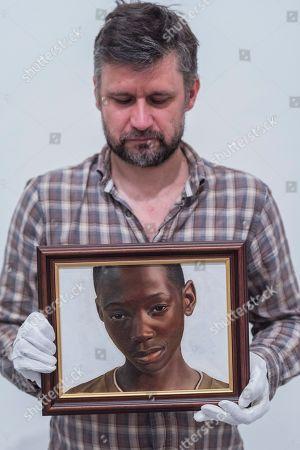 Editorial photo of BP Portrait Award, National Portrait Gallery, London, UK - 07 Jun 2018