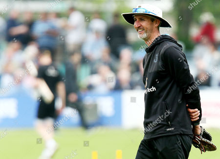 Stock Image of Sussex Head Coach Jason Gillespie.