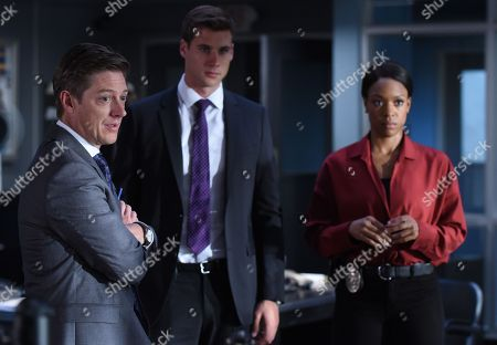 Stock Photo of Kevin Rahm, Andrew Creer, Michelle Mitchenor