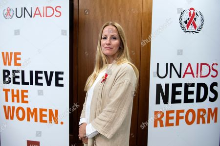Martina Brostrom, whose allegations about sexual harrassment at the UNAIDS body, and then more widely at the UN itself, have led to calls for the executive director Michel Sidibe to step down.