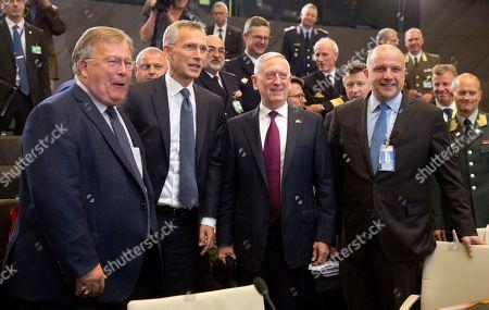 Editorial photo of NATO, Brussels, Belgium - 07 Jun 2018