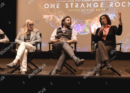 Jane Root, Ari Handel, Nicole Stott